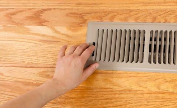 closing vents in unused rooms