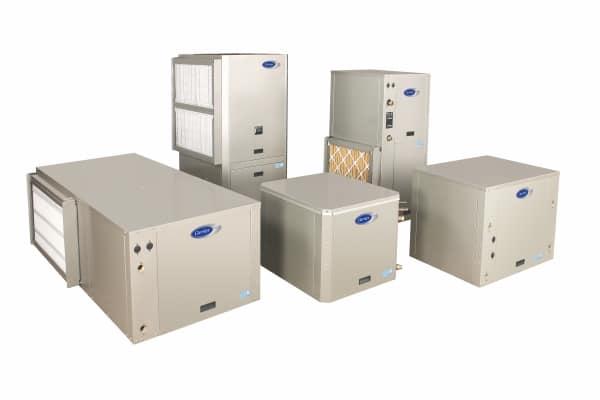 high efficiency geothermal heat pumps