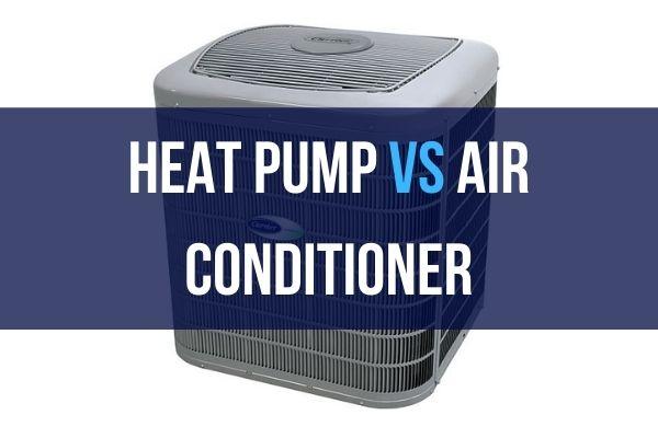 heat pump with heat pump vs air conditioner caption